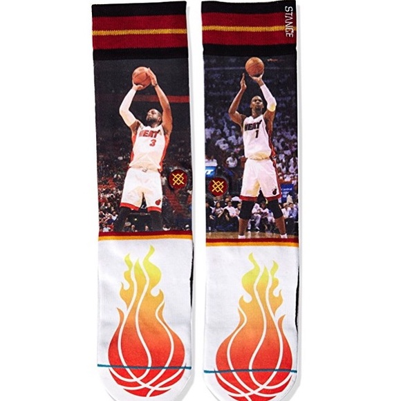 Wade Bosh Crew Socks Cheap Sale Fashion Style Clearance Supply AxIy3Bh